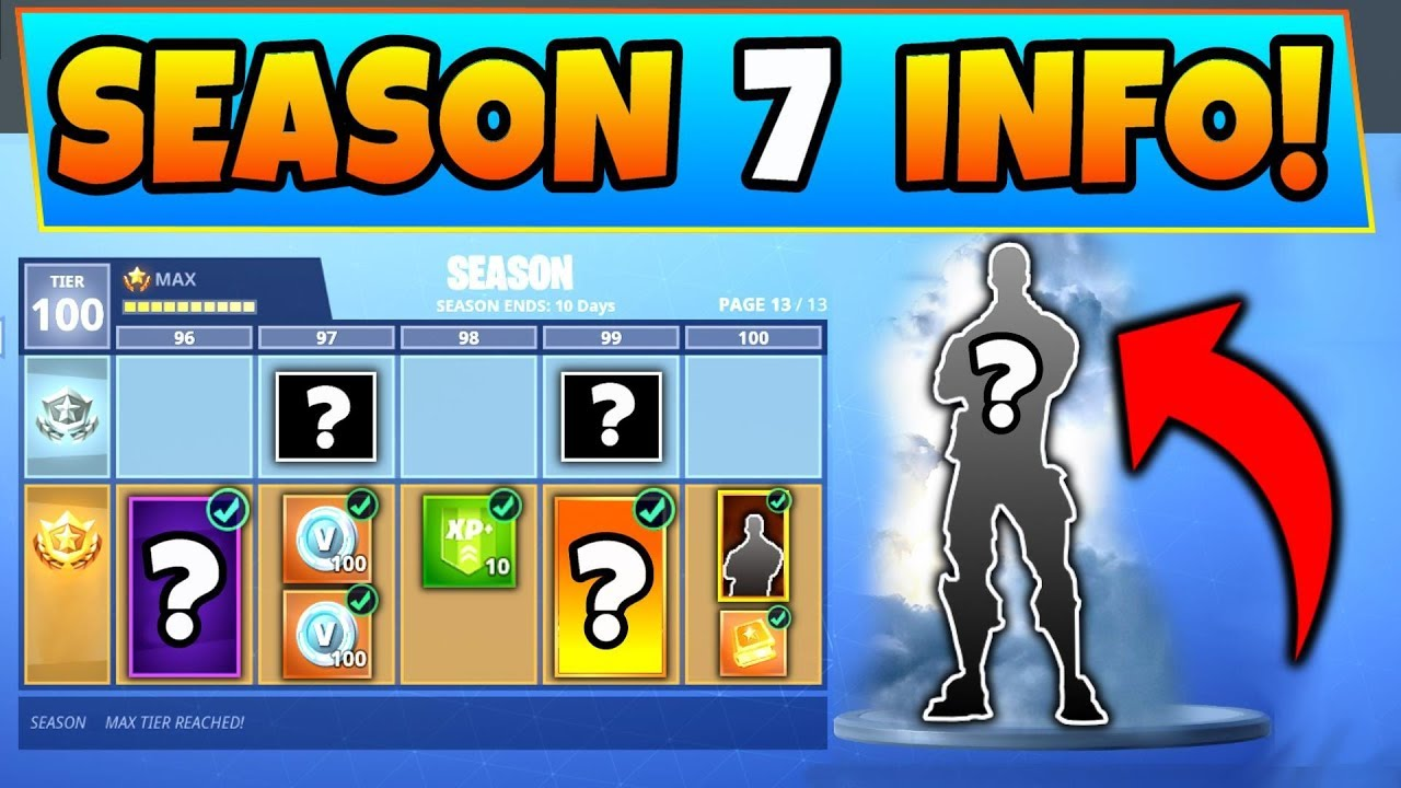 Fortnite Season 7 Battle Pass 7 Details We Know Battle Royale