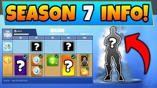 Fortnite SEASON 7 BATTLE PASS! - 7 Details We Know! (Battle Royale Update Info + Skins)