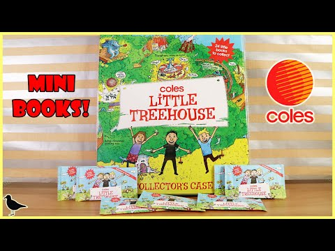 Coles Little Treehouse Mystery Mini Books Opening + Collectors Case! | Birdew Reviews