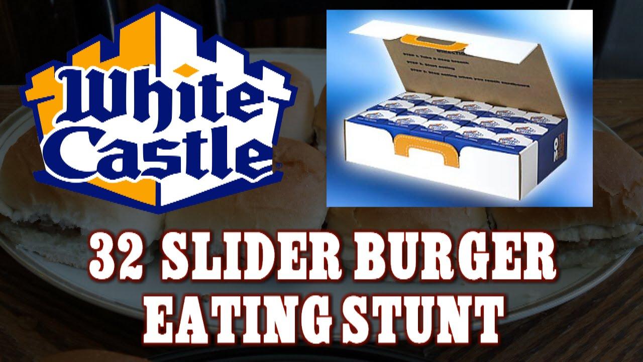 White Castle Crave Case Eating Stunt 30 Burgers Freakeating