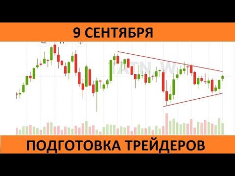 Подготовка трейдеров к 9 сентября на московской бирже. Перспективные акции.