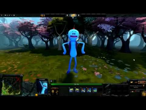 Rick and Morty announcer pack for Dota 2