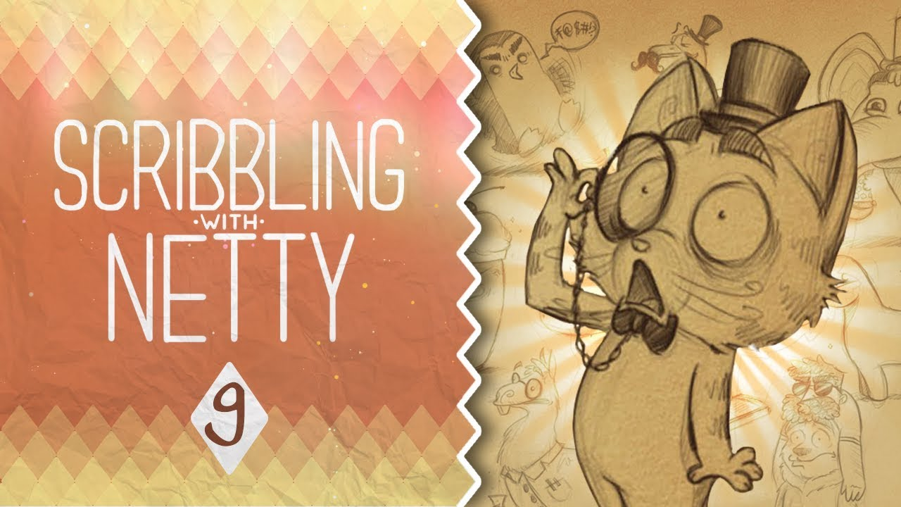 Define Scribble Drawing : The meaning of life scribbling with netty youtube