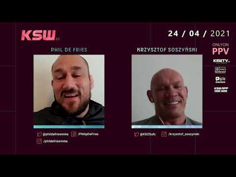 KSW Heavyweight Champ, Phil de Fries talks his rematch against Tomasz Narkun at KSW 60
