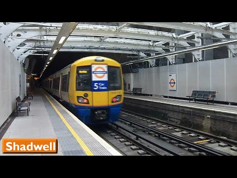 London Overground: Shadwell | East London Line (British Rail Class 378)