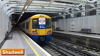 London Overground: Shadwell | East London Line (British Rail Class 378)