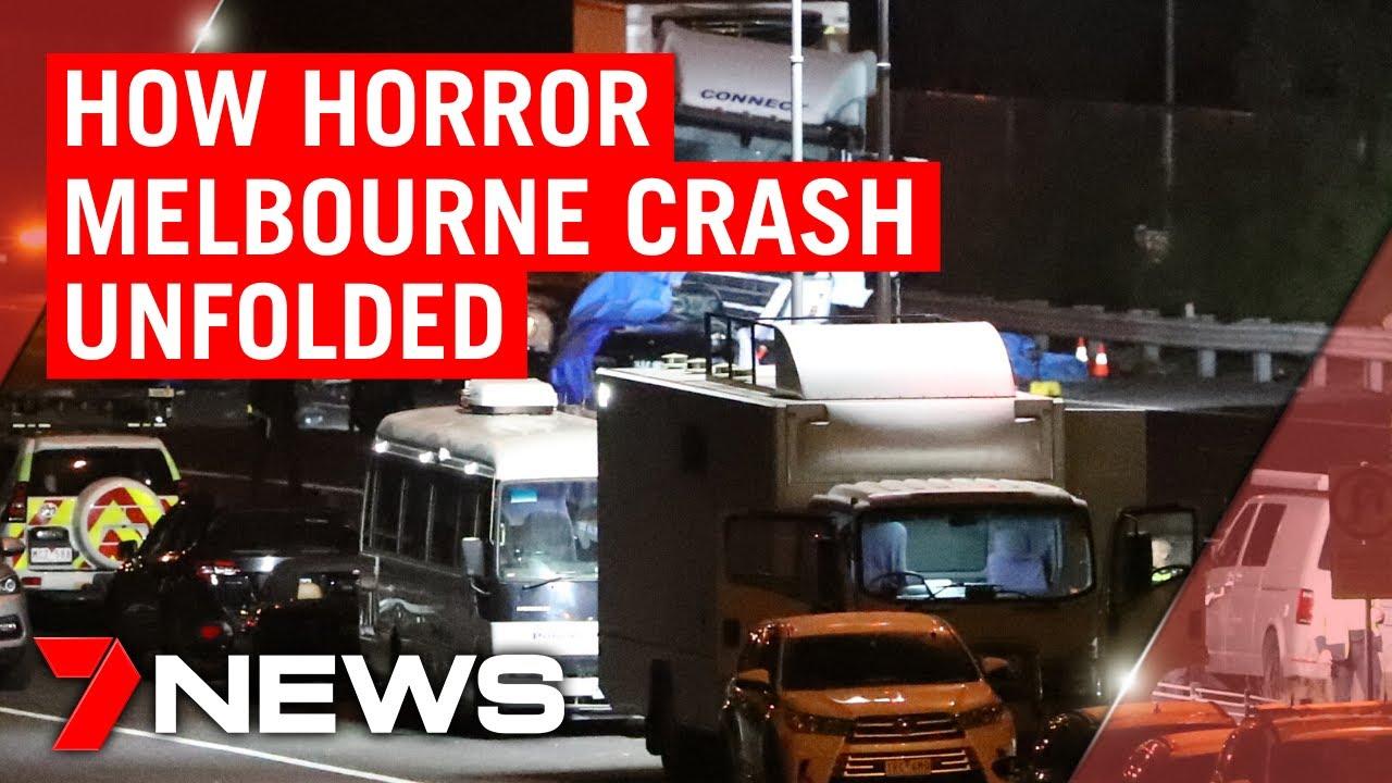 Eastern Freeway accident: How horror crash unfolded | 7NEWS