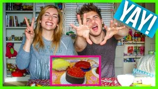 Cooking Candy Sushi!