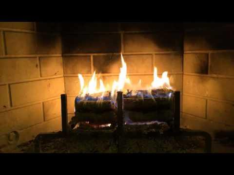 Fireplace Yule Log HD (Bedtime Version)