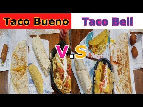 Taco Bueno VS. Taco Bell TASTE TEST