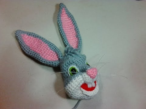 HOW TO CROCHET AN EASTER BUNNY PART 2/FEET AND HEAD/AMIGURUMI ... | 360x480
