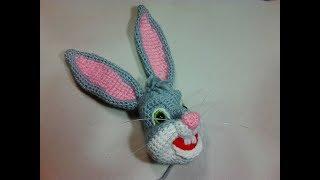 Багз Банні,2 ч.. Bugs Bunny, р. 2. Amigurumi. Crochet. Амігурумі. Іграшки гачком.