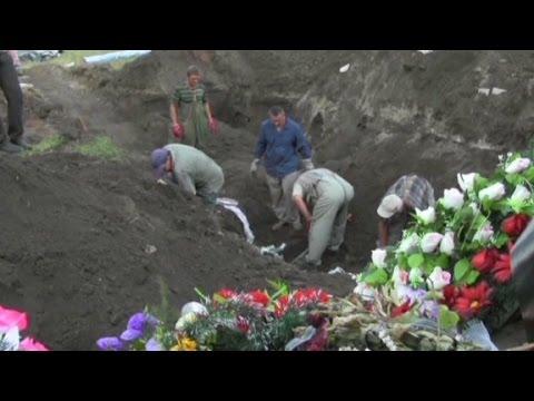 Human Rights Watch: Mass grave found in Ukraine