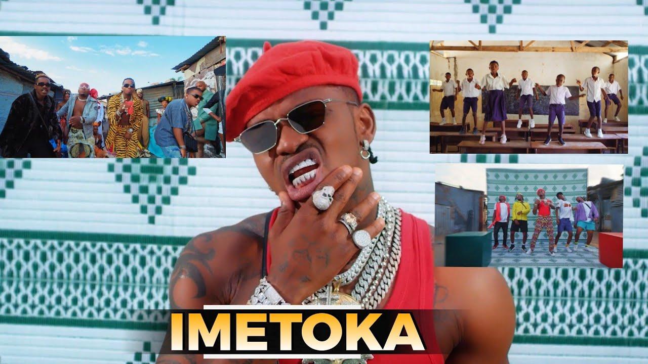 """Ni moto! DIAMOND ameachia video ya """"Iyo"""" ft FOCALISTIC,ni balaa,aonyesha uwezo wa kucheza,kafunika."""