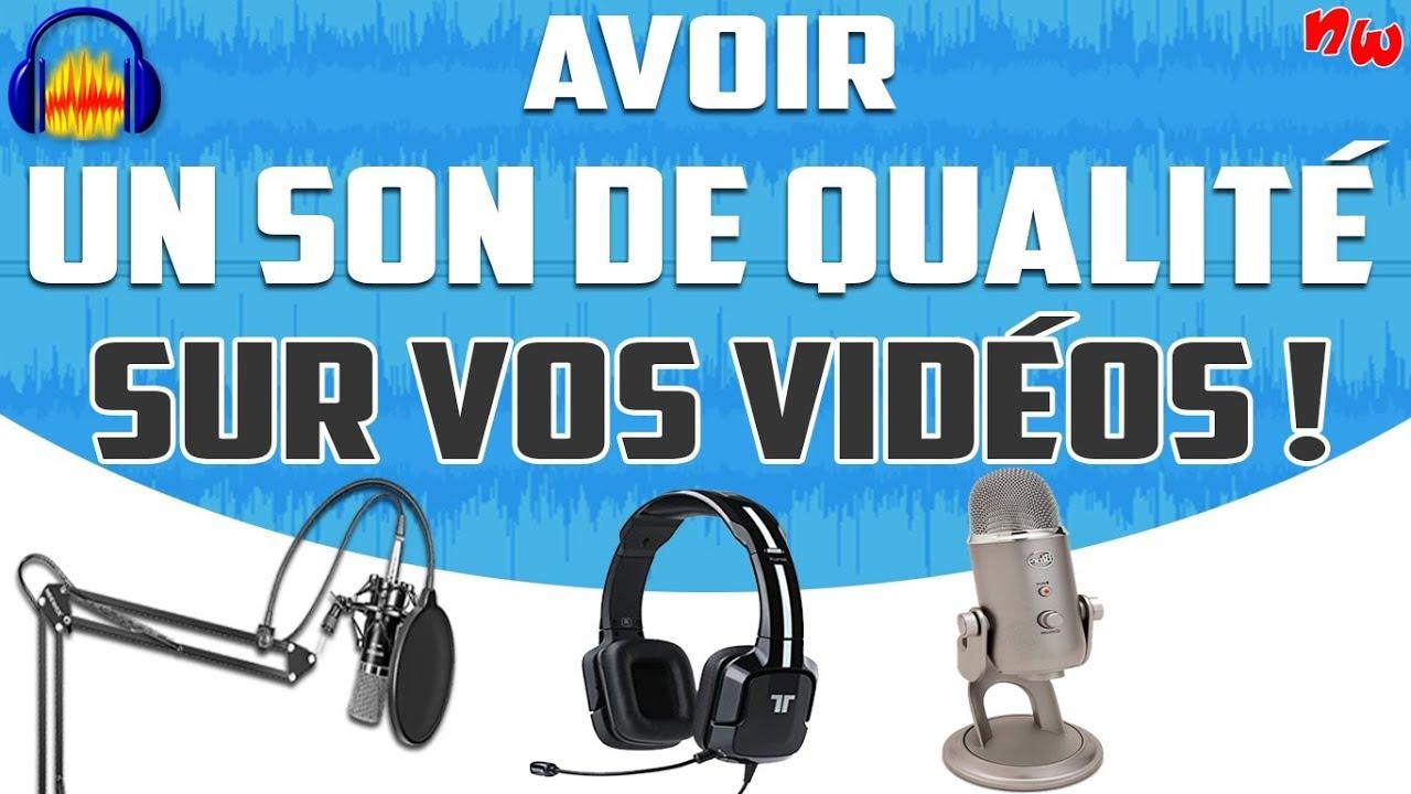 Avoir un son de qualité sur vos vidéos – Suppression bruits de fond & parasites ! | Audacity