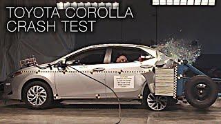 Toyota Corolla (2017) Rear Crash Test