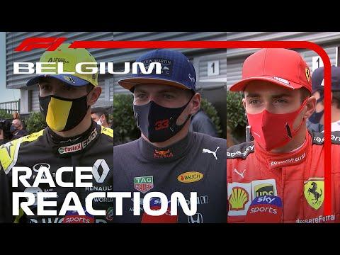2020 Belgian Grand Prix: Post-Race Driver Reaction