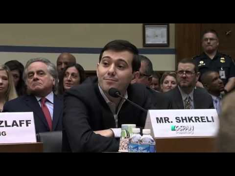 Martin Shkreli Invokes Fifth Amendment During Congressional Hearing