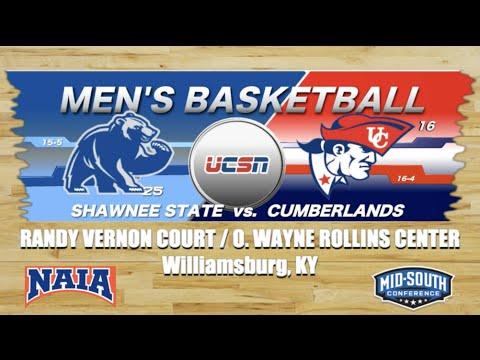 University of the Cumberlands - Men's Basketball vs. Shawnee State University 2019-2020