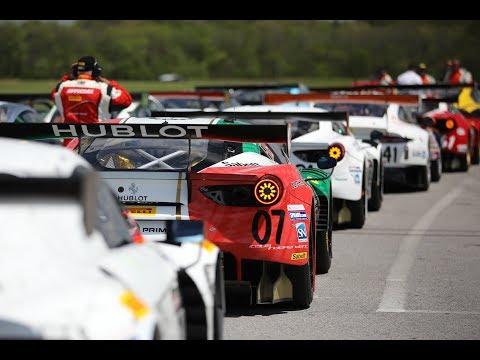 GT3 Supercar Battle at Pirelli World Challenge PWC VIR
