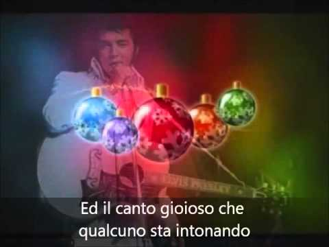 It Won't Seem Like Christmas (Without You)- Elvis Presley (Sottotitolato)