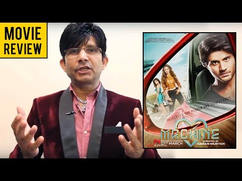 Machine Movie Review by KRK | KRK Live | Bollywood Review | Latest Movie Reviews