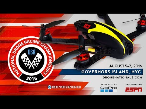 Official 2016 GoPro National Drone Racing Championships ESPN