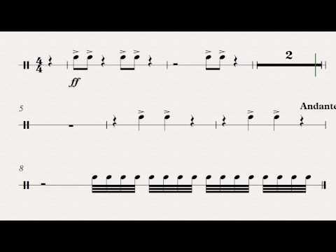 20th Century Fox Theme  Bass Drum