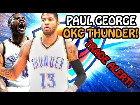 PAUL GEORGE TRADED TO THE OKLAHOMA CITY THUNDER! RUSSELL WESTBROOK NEW TEAMMATE!NBA SEASON SIMULATOR