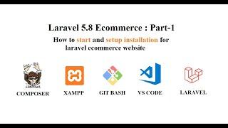 Laravel 5.8 Ecommerce Website