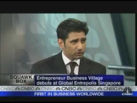 Pencell - Entrepreneur Business Village LIVE on CNBC Asia Squawk Box.wmv