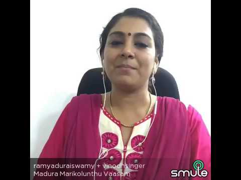 Madhura Marikozhundhu Vaasam