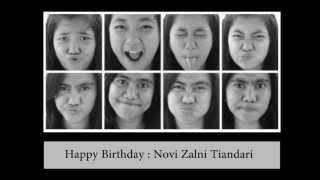 Happy Birthday Novi Zalni Tiandari From Nila Yuliani