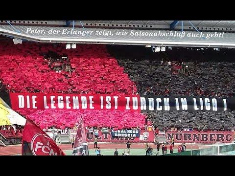 1. FC Nürnberg gegen Fortuna Düsseldorf am 13.5.2018 mission acomplished