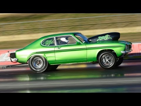Ford Capri EASY8s wins Mod Street Unblown  Adicted Performance