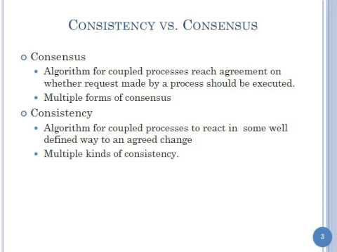 Distributed Consensus Part 1 Context Two General Problem And