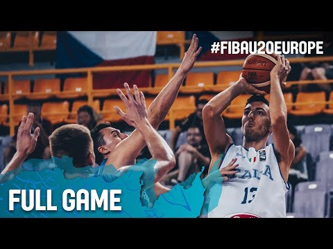 Italy v Czech Republic - Full Game - Classification 13-16 - FIBA U20 European Championship 2017