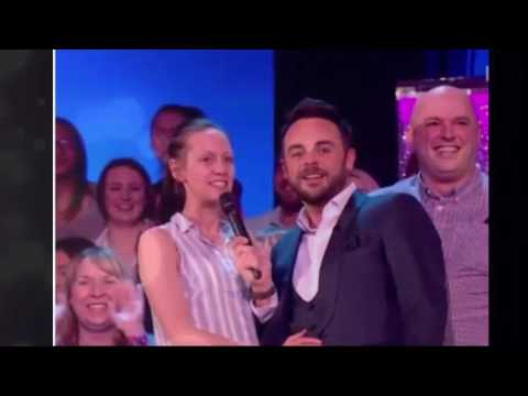 Ant McPartlin tripped and fell on Saturday Night Takeaway - but only a few viewers spotted