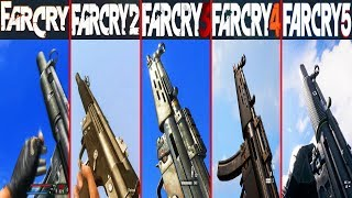 MP5 / MP5SD In Far Cry Games