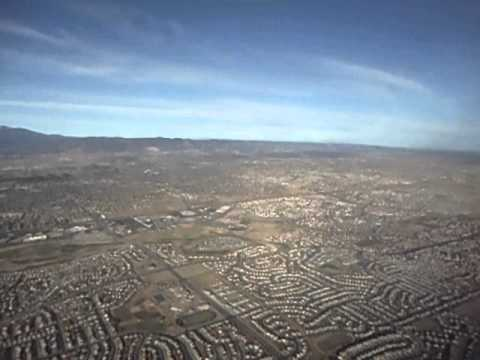 Takeoff - Colorado Springs Airport - Pikes Peak and Southern Rocky Mountains!