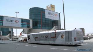 JCDecaux UAE : HSBC Jet Access Fleet Advertising Campaign in Dubai International Airport