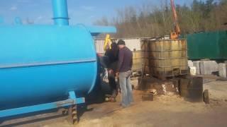 Работа горелки - Линия сушки Зерна СЗМ(, 2017-06-05T03:30:34.000Z)