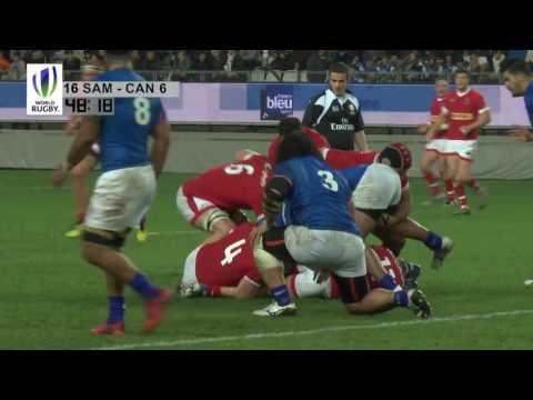 Canada vs. Samoa — 2016 November Tour — Highlights