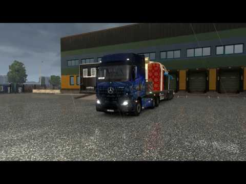 Euro Truck Simulator 2 #86 #Holiday Delivery Event #Milano-M