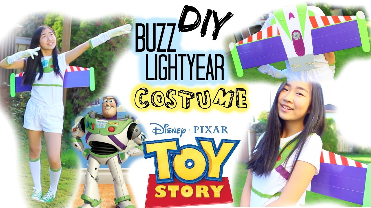 Diy buzz lightyear halloween costume youtube solutioingenieria Images