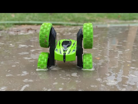 Kid's Play High Speed RC Stunt Car    RC 1:28 Scale High Speed With 360 Degree Rolling Unbox N Play