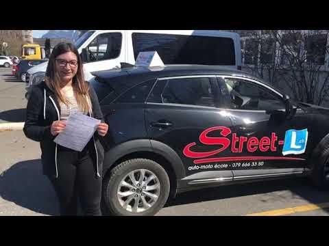 Bravo Bruna Permis De Conduire Réussi Avec Street L Auto école 079 666 33 50