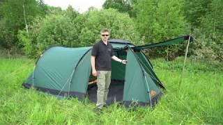 Alexika Nevada 4 - обзор туристической палатки