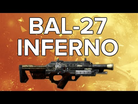 Advanced Warfare In Depth: BAL-27 Inferno Elite Weapon Review (Top Tier!)