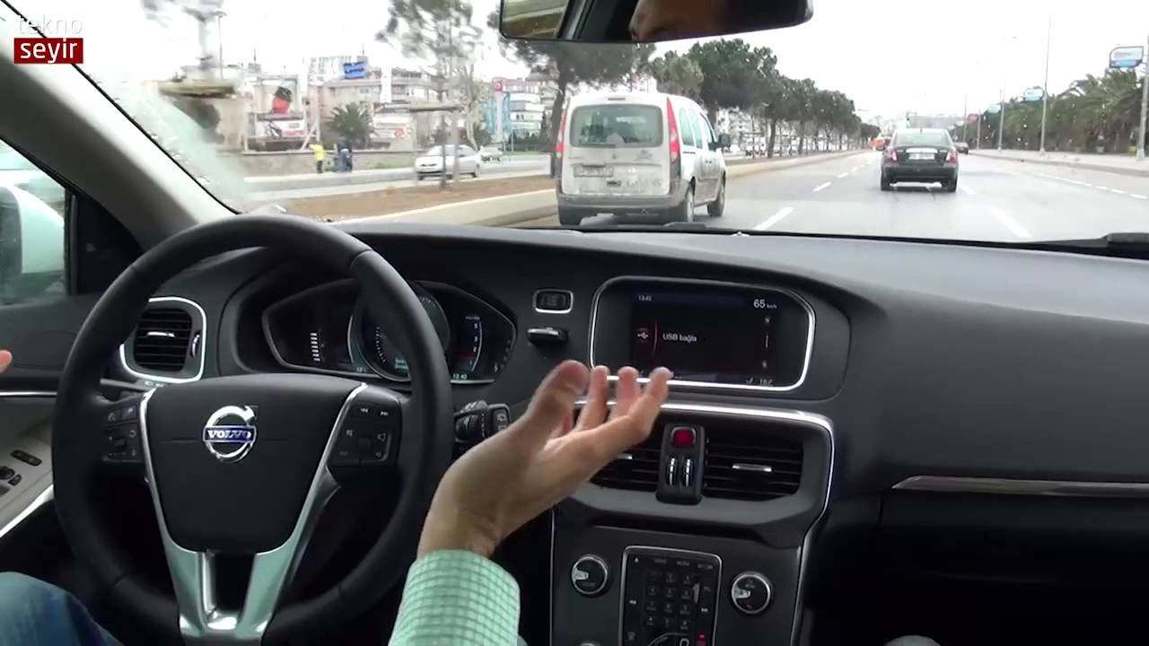volvo v40 d2 powershift İncelemesi - youtube